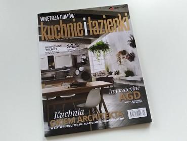 """Nasza publikacja w """"kuchnie i łazienki"""""""