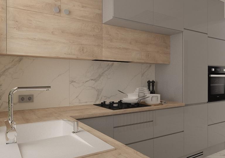 Kuchnia w domu jednorodzinnym (3)