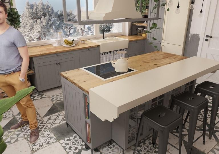 Kuchnia w stylu loft (5)
