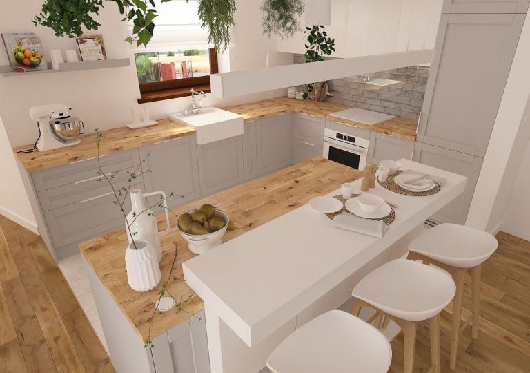(6)Projekt kuchni Zduńska Wola / Czechy
