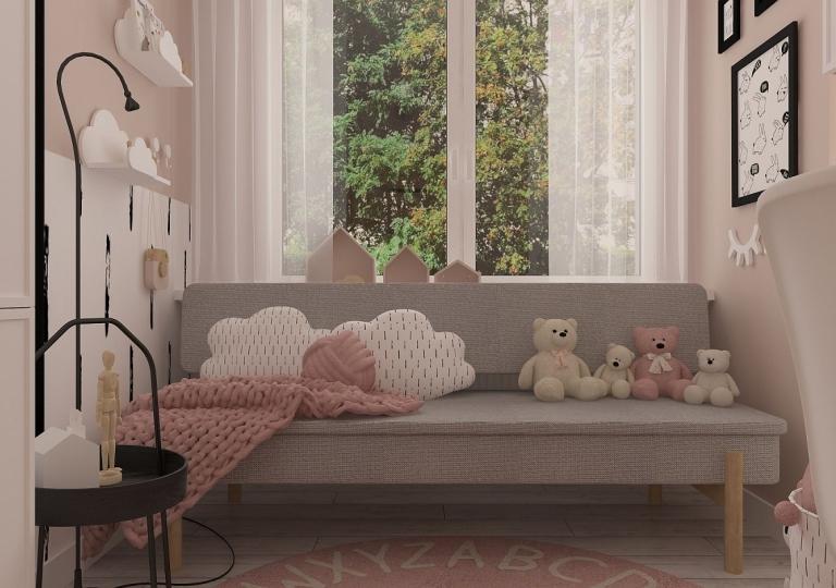 Projekt pokoju dziecięcego - Łask (4)