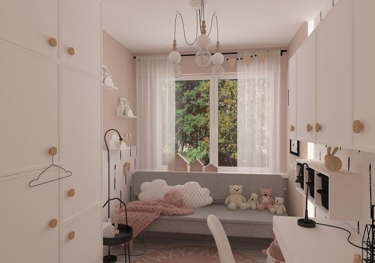 Projekt pokoju dziecięcego - Łask (7)