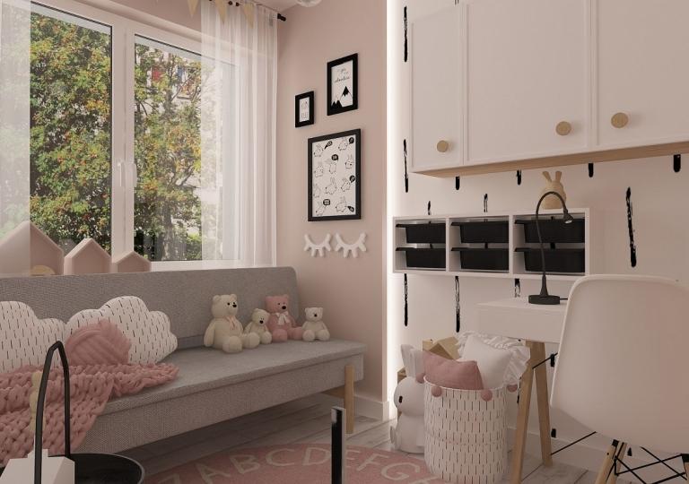 Projekt pokoju dziecięcego - Łask (8)