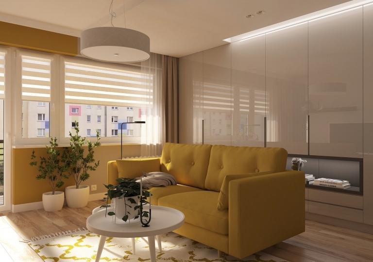 Projekt salonu Sieradz